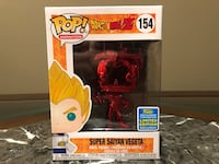 Vegeta *CHROME RED* - DBZ Exclusive Funko Pop!