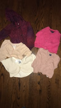 Baby Clothes Toddler Girl  Sweaters Toronto, M9R 2T3