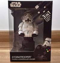 NEW! Comic-Con 2018 Disney Star Wars Stormtrooper Phone & Controller Holder by Cable Guys Whittier, 90605