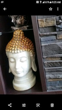 Budda head - home decoration indoor or outdoor