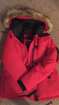 Red Woman's Winter Jacket