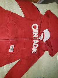 Size 2t canada hoodie