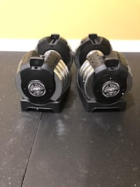 New/Never Used- Adjustable Dumbbells (10 - 50 lbs.) by XMark Clarksburg, 20871
