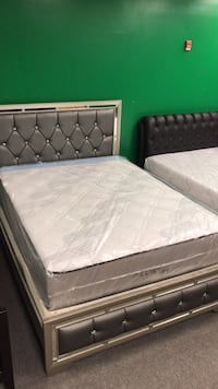Memory Foam Queen Size Mattress And Boxspring, (Bed Frame $345, Bed + Mattress $645)
