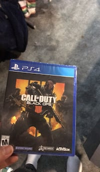 PS4 Call of Duty game case Belleville, 07109