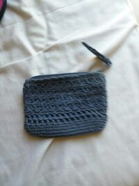 gray knitted coin purse Raceland, 70394