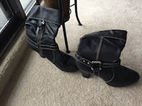 Leather Fossil boots