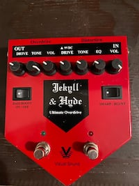 Jekyll and hyde guitar pedal Version 1