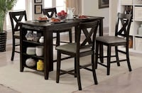 5pc Dining Table Set  Ontario