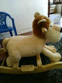 Lion rocking chair for kids Bell, 90201