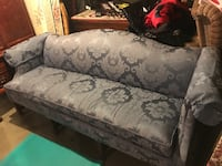Blue couch- price reduced!!