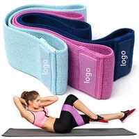 3 Fabric Resistance Band NEW