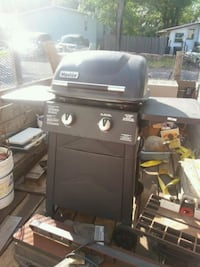 black Char-Broil gas grill with tank Saratoga County