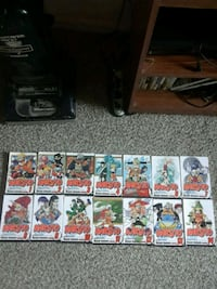 Naruto Vol 1-14 manga collection  Germantown, 20874