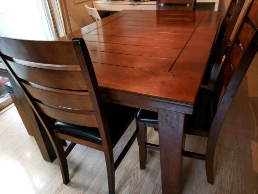 used solid wood 8 seater dining table for sale in cupertino letgo rh gb letgo com