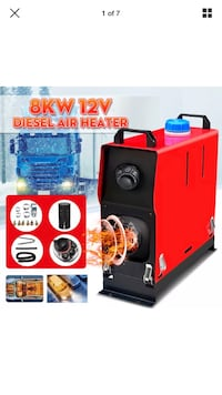 All in one 8KW diesel Air heater Brampton, L6R 2T2