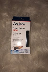 Aqueon Preset Heater 100Watts North Las Vegas, 89032