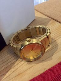 NIXON MENS CANNON ALL GOLD ANALOG WATCH Montréal, H1W 2X9