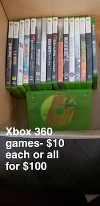 Xbox 360/One games Edmonton, T5Z 0E4