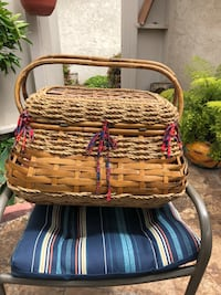 Brown picnic wicker basket Oxnard, 93030
