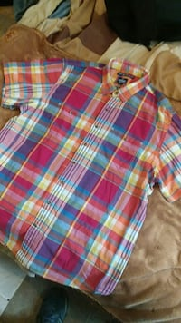 Old Navy short sleeve button-down shirt
