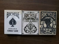 Bicycle civil war, arch angels ve cobalt luxe