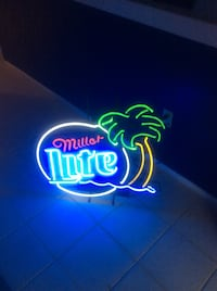 miller lite neon light decoration Palm Harbor, 34684