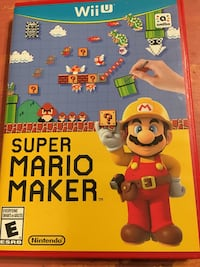 Wii U Super Mario Maker Game Edmonton, T6E 2S5