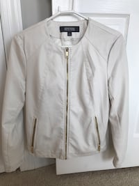 Women's Leather Kenneth Cole Jacket Sterling, 20165