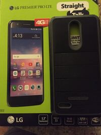 black LG android smartphone with box Waterloo, 50701