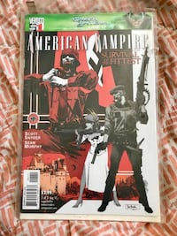 AMERICAN VAMPIRE Survival of the fittest (1of5) St Thomas, N5R 2K9