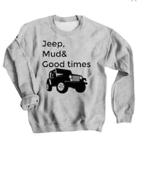 gray and black crew-neck sweater Spanish Fork, 84660