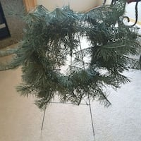 Christmas Wreath and Stand Chestermere, T1X 1G1