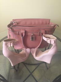 Purse and heels(size 8)  Hagerstown, 21740