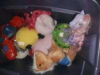 three assorted TY Beanie Baby plush toys Fort Worth, 76106