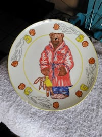 Bearly Awake plate by Dennis Kyle Cape Canaveral, 32920