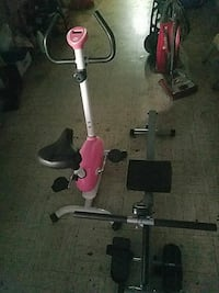pink and white stationary bike Los Angeles, 91356