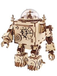 Robotime 3D Puzzle Music Box Wooden Craft Kit Rockville, 20852