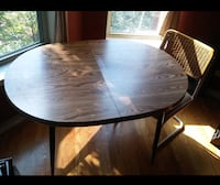 "Retro Dining Room Table 49.5"" x 35"" x 30"" tall. Chicago"