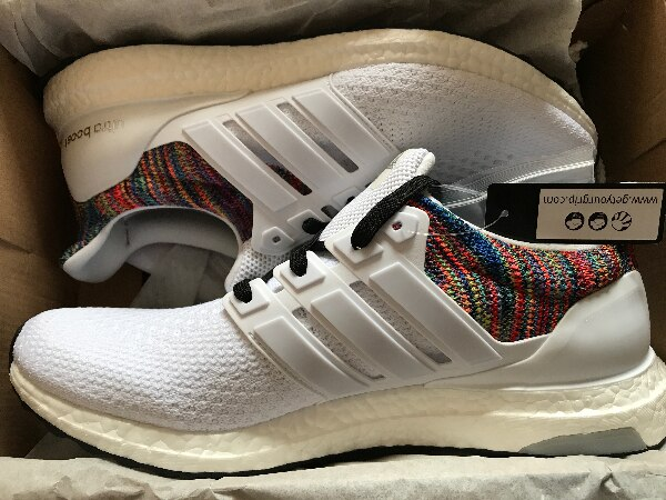 20bf92d0237f Used miAdidas Adidas Ultra Boost Rainbow UK Size 10 Rare Deadstock for sale  in Bristol