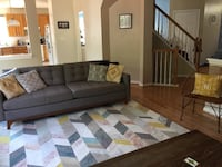 Brand New rug. In my house for 6 months and no shoes are allowed on it. In perfect condition. Price is firm because it was expensive and I may just keep it to use in the dining room if it doesn't sell. :) it is perfect except I didn't like how it looked w Bristow, 20136