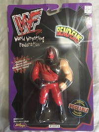WWF Bend-Ems action figure pack