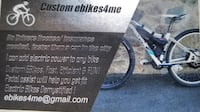 Custom Built Electric, ebikes All types, various frames, speeds and power Brookline, 02446