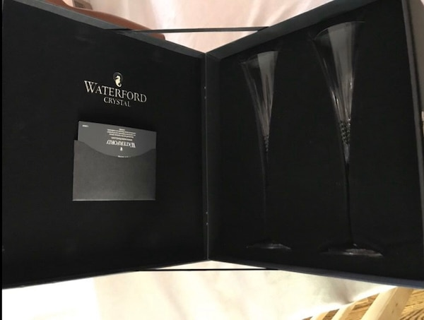 Waterford champagne flutes 05d8c631-81b4-4a4e-8827-db7eaa7f0977