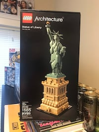 Lego Statue of Liberty architecture set new unopened sealed set, 100.00 retails for 120 plus tax, save some cash only 100.00 Medford, 02155