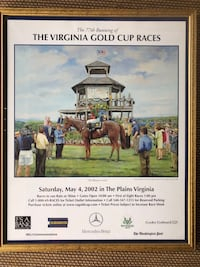 Virginia Gold Cup professional framed horse print Martinsburg, 25403