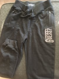 Guess black terry joggers Surrey, V4N 0Y7
