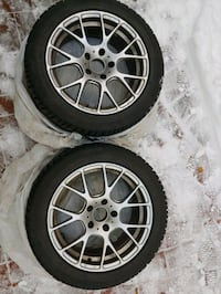 Winter Tire set with Rims.