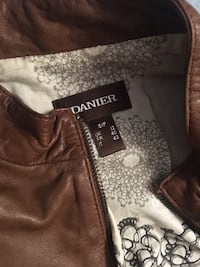 DANIER brown leather jacket Vaughan, L4L 6W7