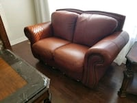 brown leather 3-seat sofa Laval, H7M